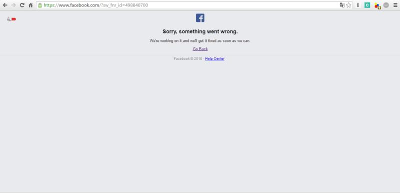 bf07dd997 Facebook cai na noite desta sexta-feira e usuários reclamam no Twitter