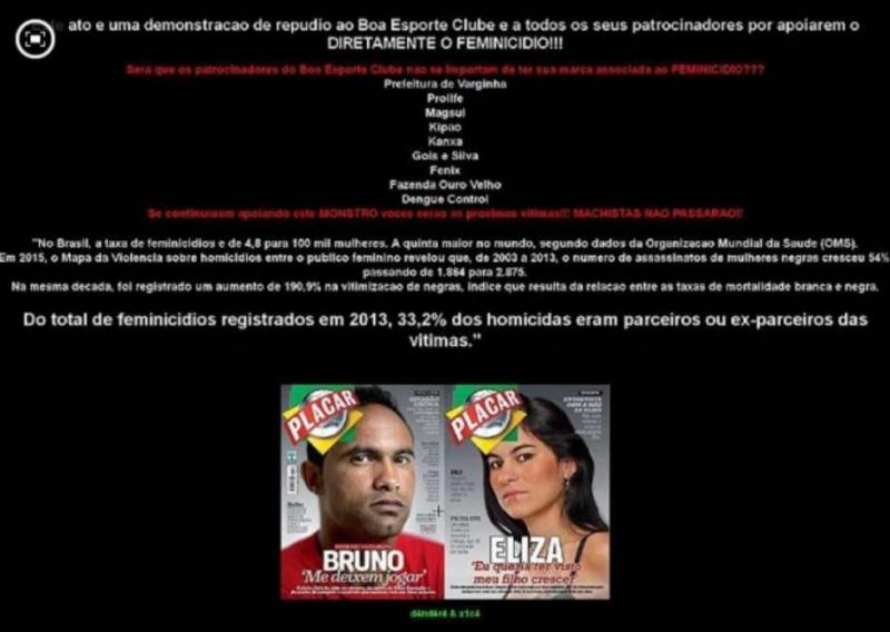 Site do Boa é invadido por hackers e exibe dados sobre feminicídio 3ac2eb568bb5b