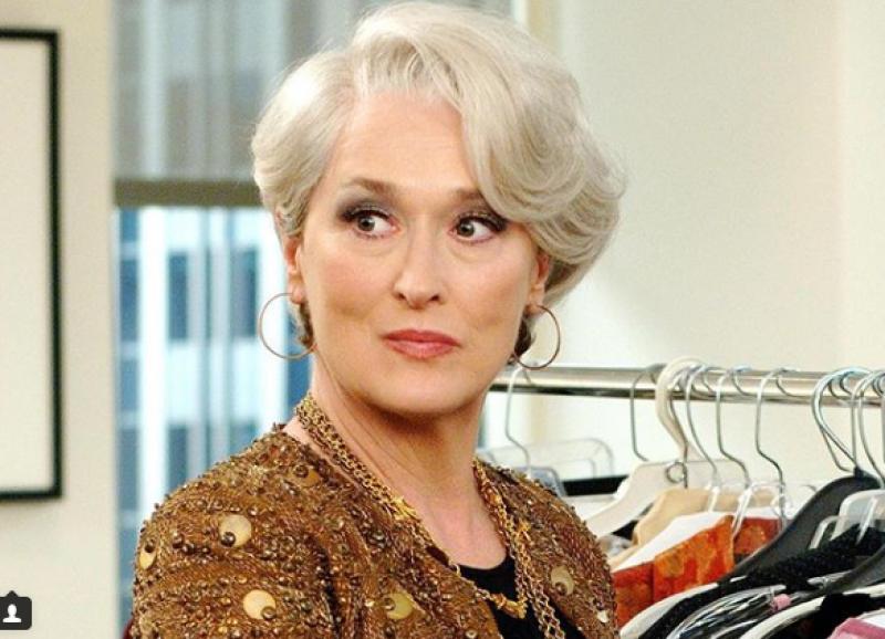 6019afca7 Meryl Streep recria cena de 'O Diabo Veste Prada' para divulgar ...