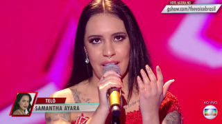 Mineira Samantha Ayara é a vencedora do The Voice Brasil