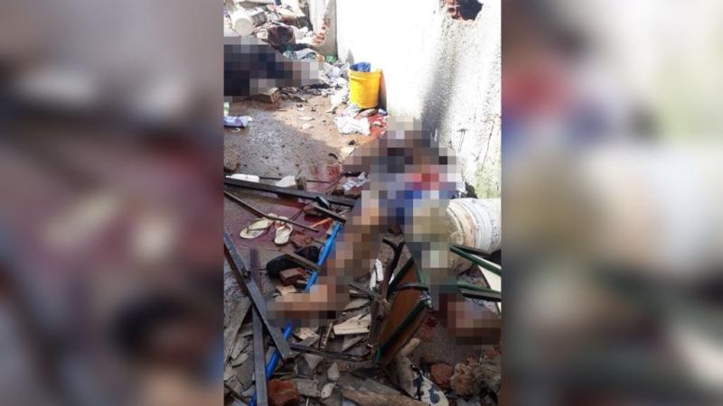 665b923f45  Têm decapitados e queimados   familiares se desesperam na busca por  notícias sobre detentos.