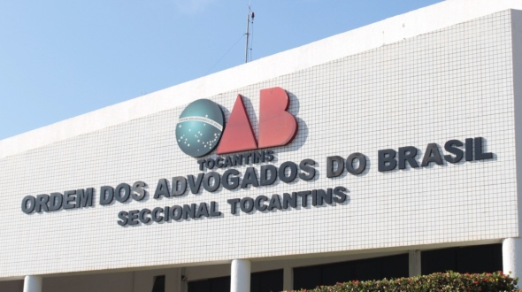 Sede da OAB-TO no Tocantins