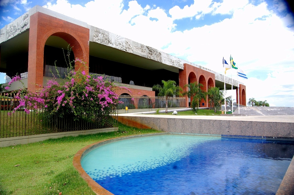 Resultado de imagem para palacio araguaia palmas