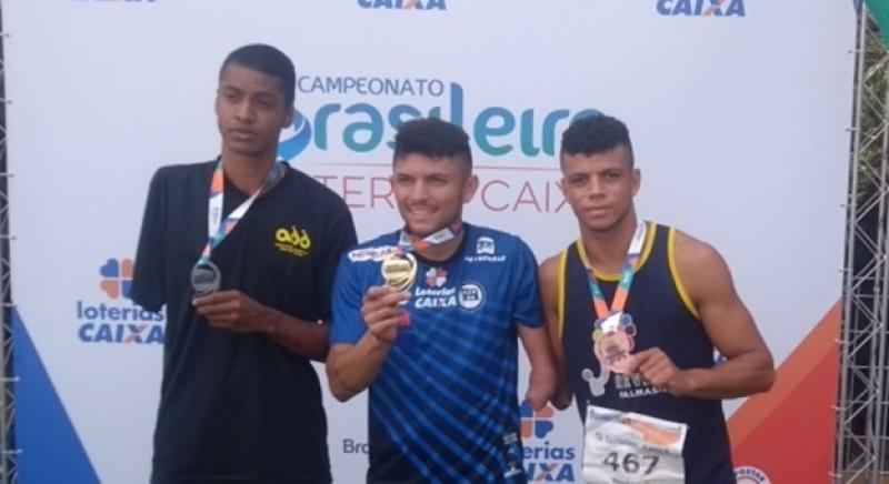 3c0d467eb Atletas paralímpicos do TO são campeões brasileiros de Atletismo