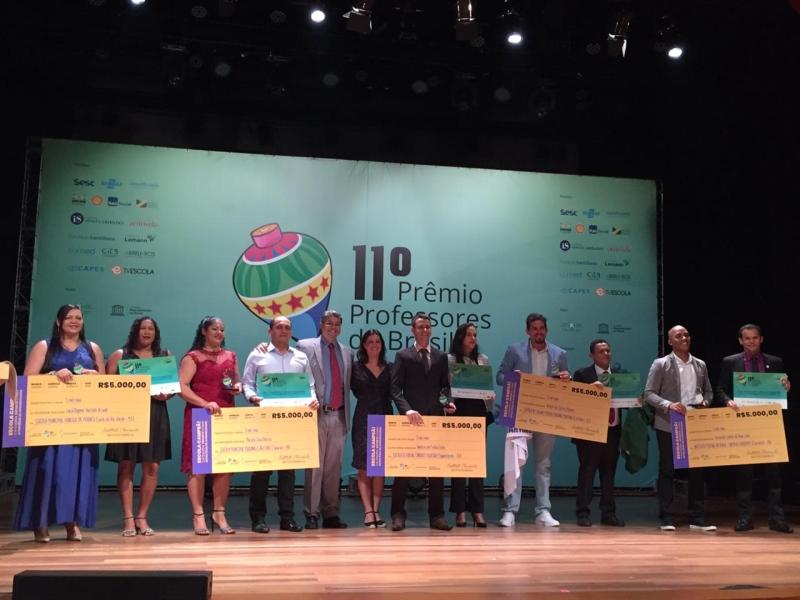 1022a9a48 Professor do TO ganha prêmio do MEC por usar o esporte como ...