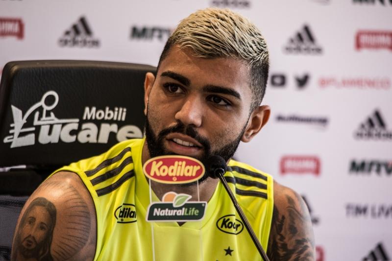 02dedd370f83e Gabriel admite ansiedade pelo 1º gol e vê versatilidade como trunfo ...