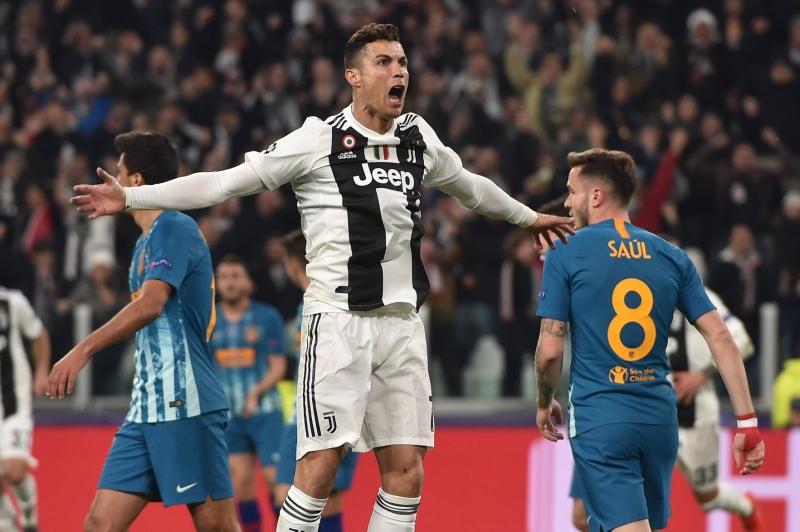 292342c202 Cristiano Ronaldo marca 3, Juventus bate o Atlético e avança na Liga ...