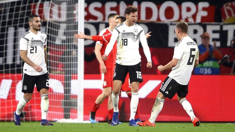 acbd97d1df6e6 Alemanha empata com Sérvia em casa e amplia crise antes das ...
