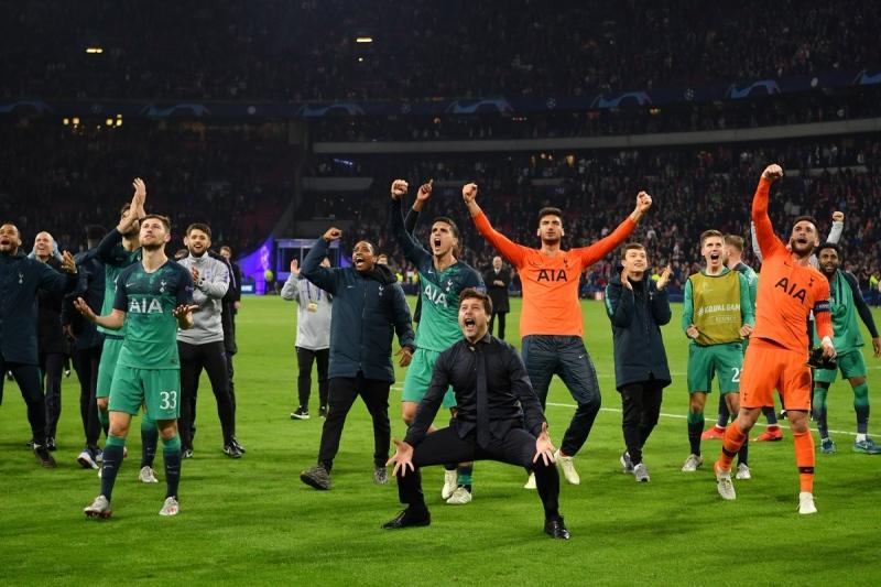 b682549388 Com 3 de Lucas, Tottenham vira sobre Ajax e faz sua 1ª final de Liga ...