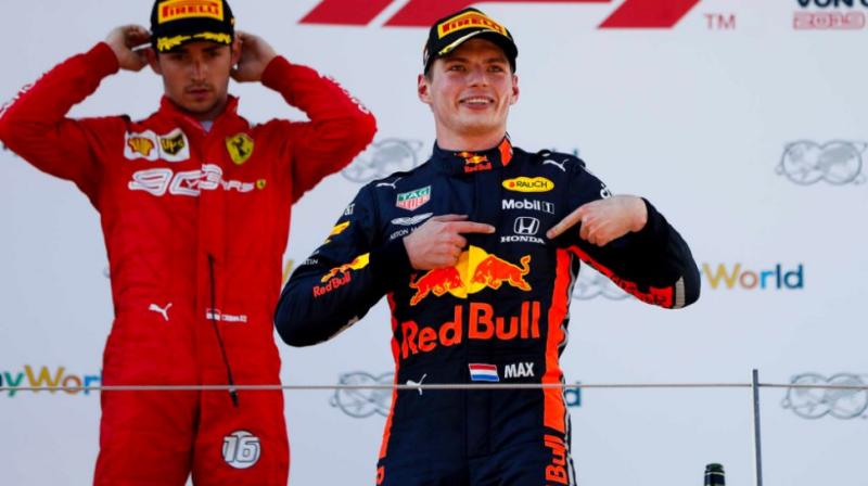 Resultado de imagem para Comissários tomam decisão sobre incidente no GP austríaco entre Verstappen e Leclerc