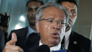 Paulo Guedes em Davos