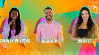 Juliette, Gil e Camilla disputam vaga na final do BBB 21