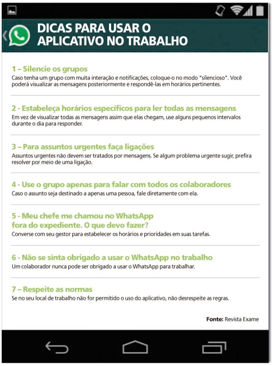 Excepcional Whatsapp na empresa: vilão ou mocinho? TF01